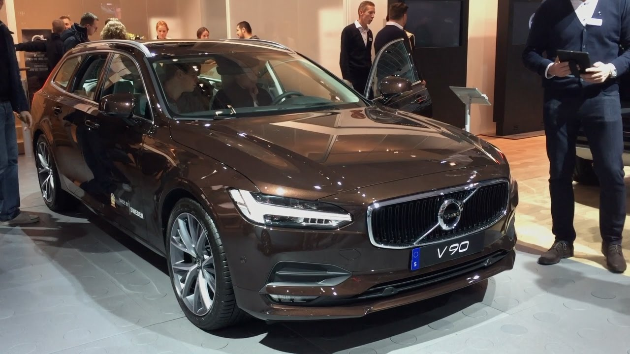 Volvo V90 2017 In Detail Review Walkaround Interior
