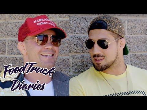 Colby Covington | Food Truck Diaries | BELOW THE BELT with Brendan Schaub