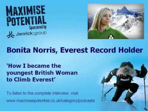 Bonita Norris - Youngest British Woman to Climb Everest (EXCLUSIVE INTERVIEW)