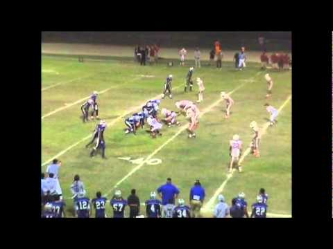 Leo Davis Pacific Football Highlight 2010