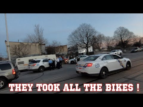 ALL THE BIKES ARE GONE !