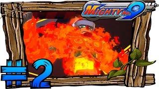 Mighty No. 9 Walkthrough Part 2 Gameplay   Oil Platform & Boss Pyrogen (Mighty No. 1)