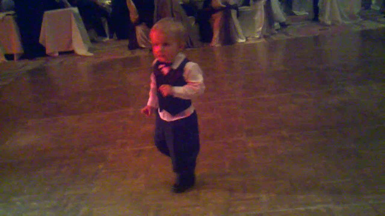 Baby Elvis Dancing To The Band