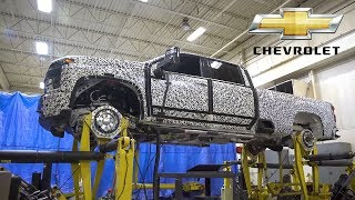 2020 Chevrolet Silverado HD – Four Post Durability Testing