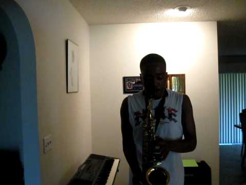 Jamal WIlliams on the sax