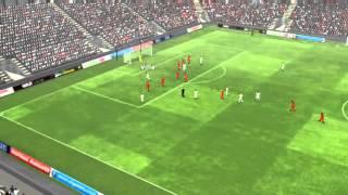 Gruzja vs Hiszpania - Villa Gol 45 minuta