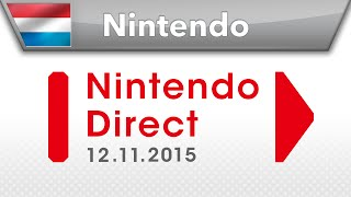 Nintendo Direct-presentatie - 12.11.2015