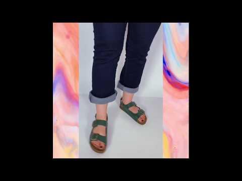 BIRKEN ankle - verde escuro
