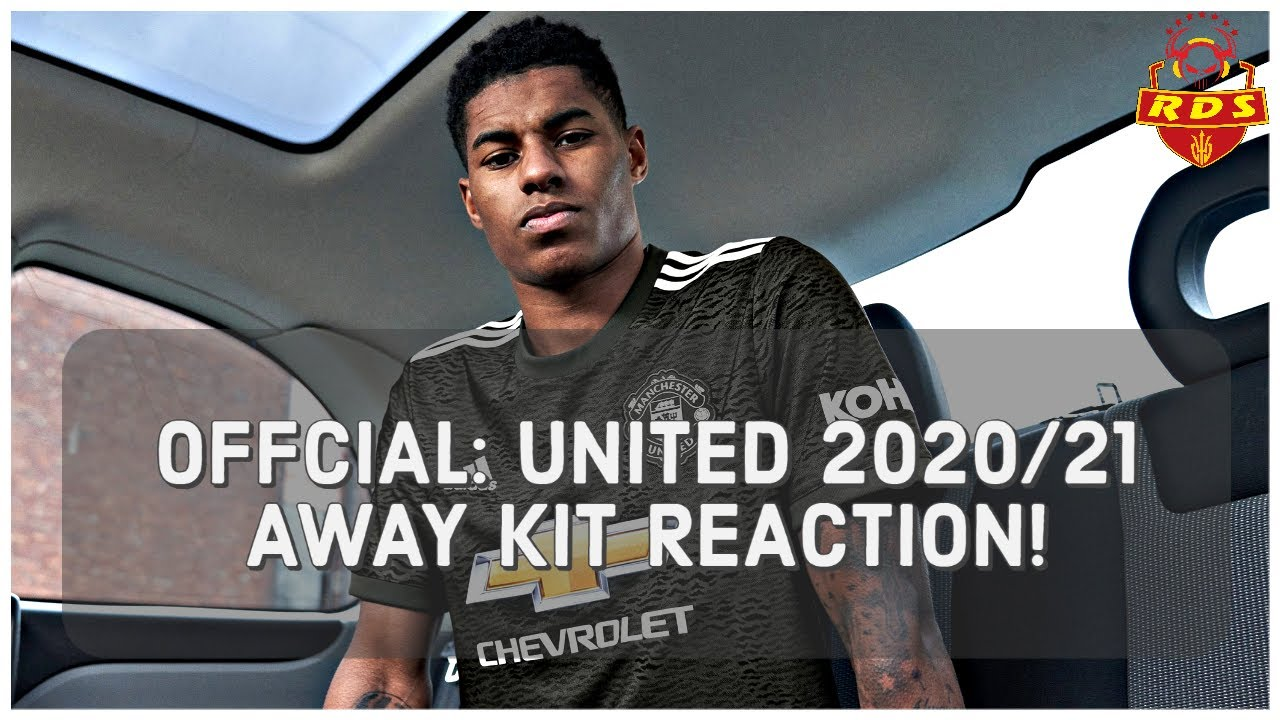 Manchester United 2020 21 Offcial Away Kit Reaction Youtube