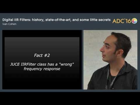 Digital IIR Filter, Ivan Cohen