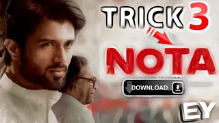 How to download nota movie in Tamil HD  Tamil tricks 3