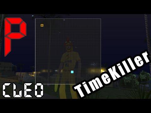Time Killer SA:MP CLEO(мини-игра)