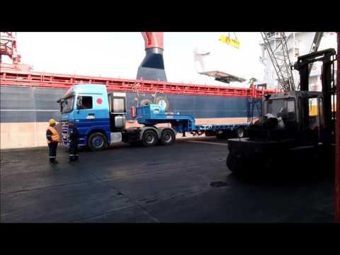 Egyptian Global Logistics wind turbine logistics for Gamesa #KadmarGroup #HeavyLift