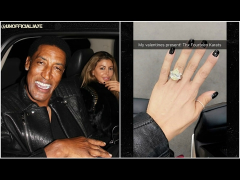 Scottie Pippen Takes Back THOT Wife Larsa Pippen & Buys Her A Huge Ring?! SMH