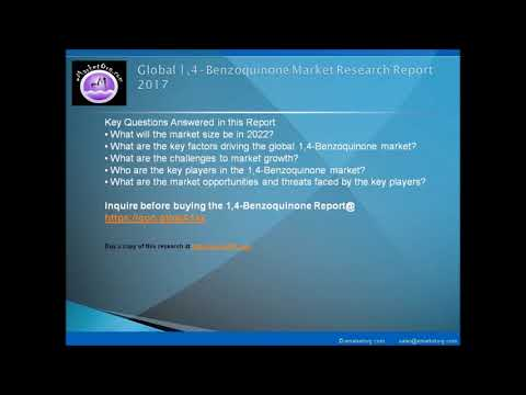1,4-Benzoquinone Market by Competitive Environment and Resources Analysis