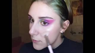 Яркий макияж глаз Bright eyes makeup