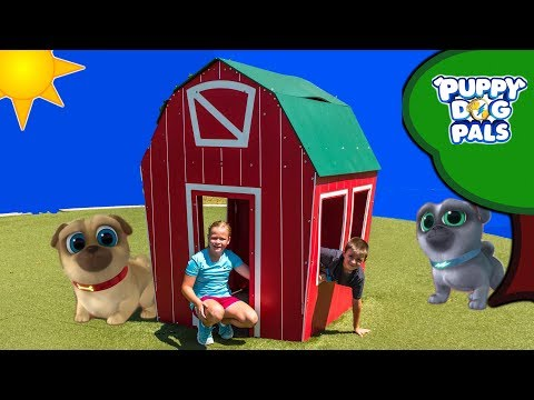 Puppy Dog Pals Found at the Playground By Assistant and Batboy