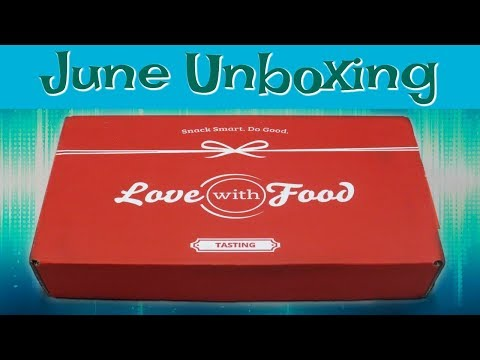 Love With Food Unboxing - June 2018 + Promo Codes!