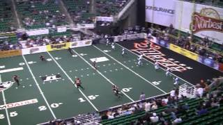 Shaun Kauleinamoku - WR/KR  #21 - Utah Blaze 2012 Arena Football League Highlights