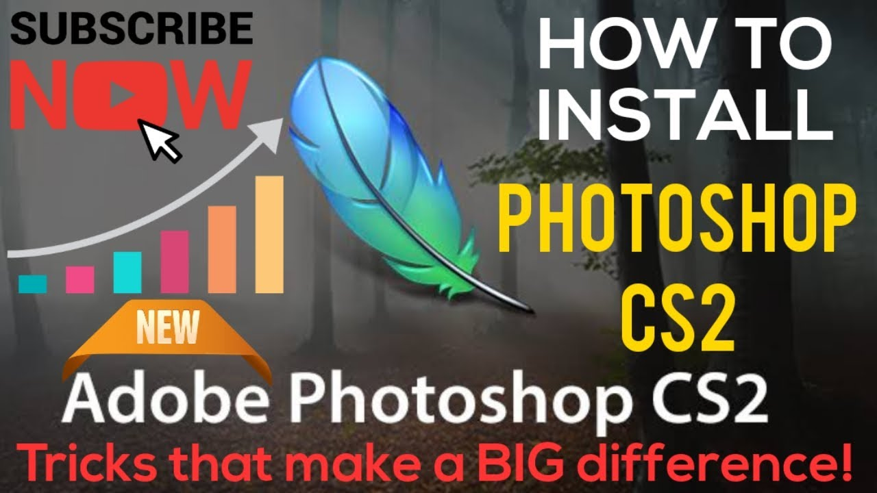 How To Install Adobe Photoshop CS2 Full Version Easy Way 100%