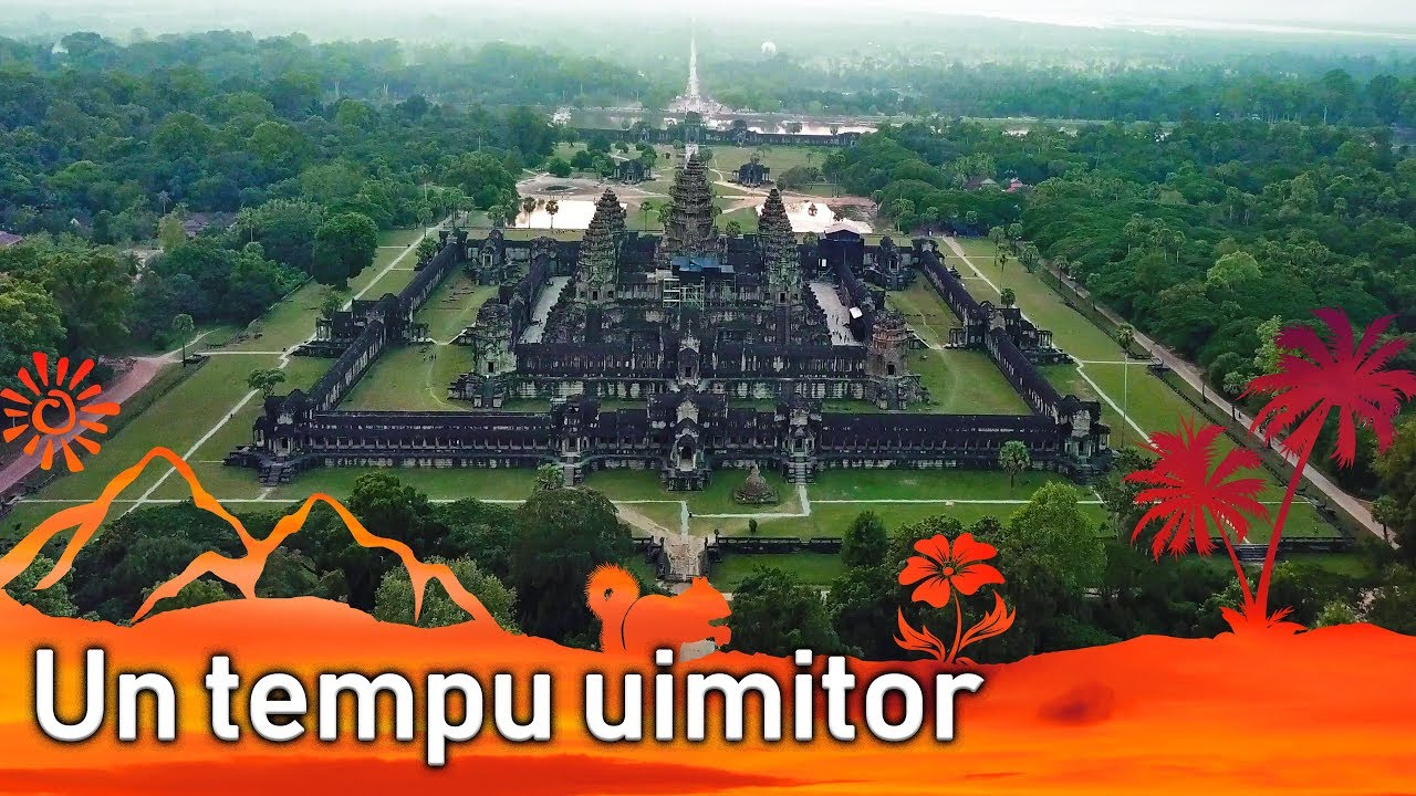 Angkor Wat filmat cu drona (P2) || Jurnal de Calatorii #45