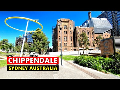 Walking Around CENTRAL PARK MALL Chippendale Sydney Australia