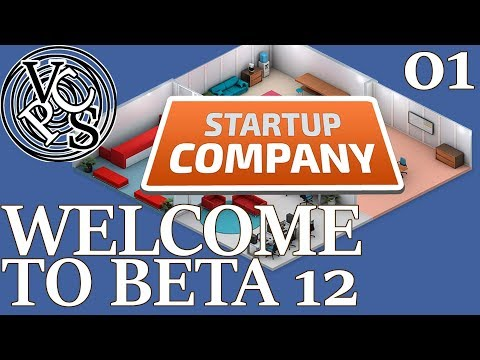 Welcome to Beta 12 : Let's Play Startup Company EP01 - Beta 12 Software Developer Tycoon Gameplay