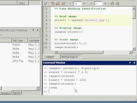 developing algorithms overview matlab video demonstration
