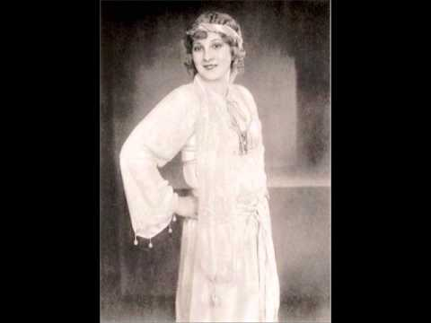 Lotte Schöne, soprano, Christmas song from the early 1930s