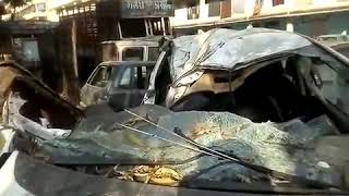Danish Zehen Car Totally Damage In Accident