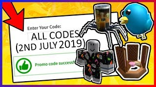 *5* NEW ACTIVE ROBLOX PROMO CODES (JULY 2019)