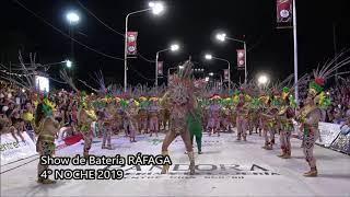 4 Noche Carnaval Concordia Show Batería Ráfaga