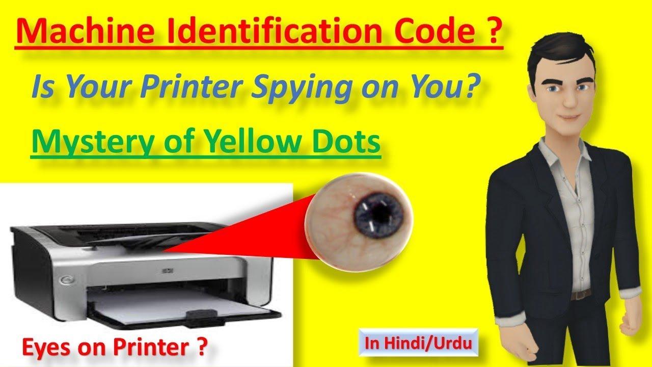 Machine Identification Code Entfernen