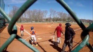 9u youth baseball giants vs the club semi final game
