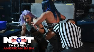 An interview with Candice LeRae turns chaotic: NXT Great American Bash, July 1, 2020