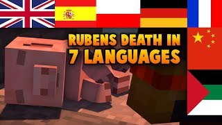 Reubenand39s Death In Every Language Minecraft Story Mode