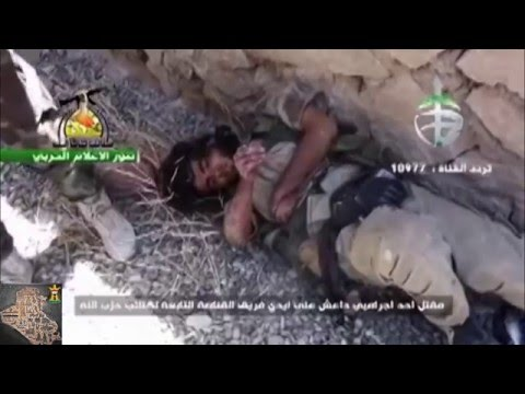 moment sniper Isis in Iraq