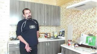 Кухни для дачи (48 фото): особенности кухонной мебели, уголков, гарнитуров, как обставить, фото и видео