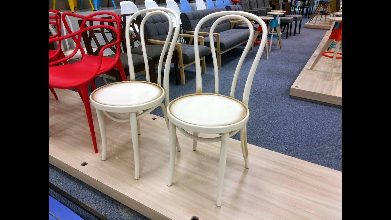 Стол-слайдер Милан с камнем и стулья деревянные Вена - YouTube