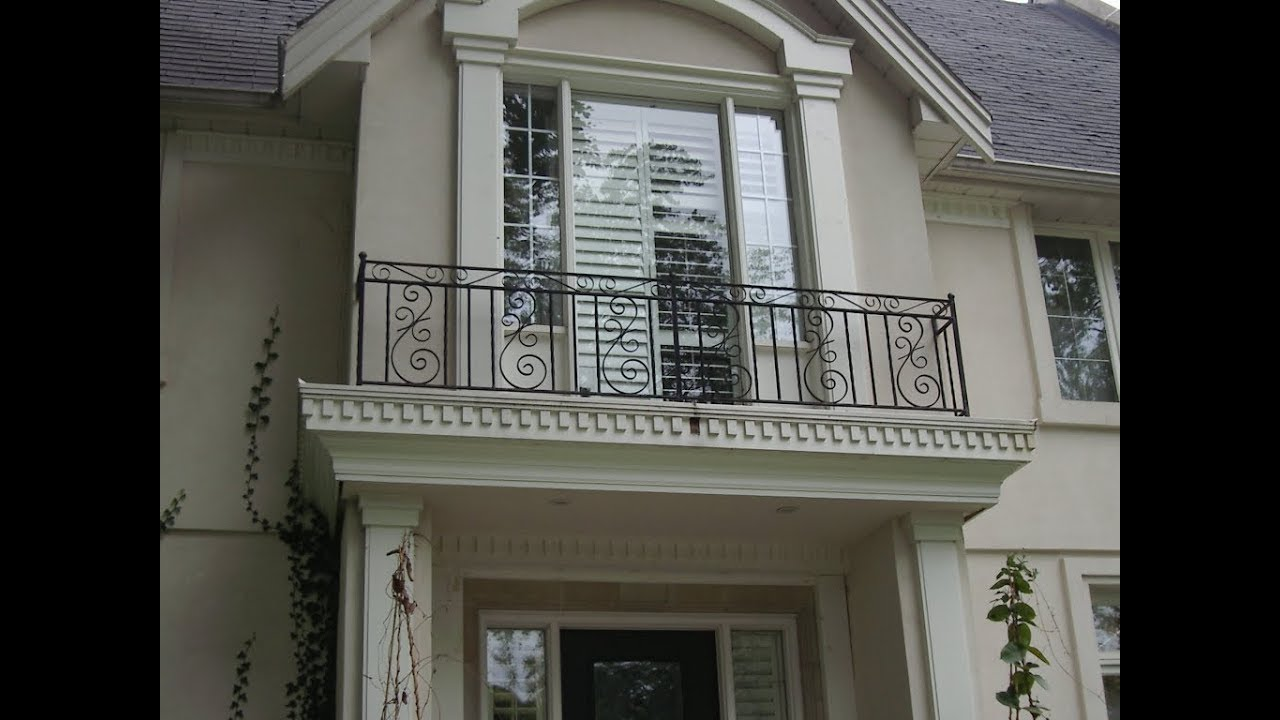 Balcony design for home home design for Balcony handrail design