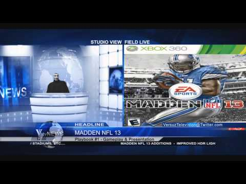 ♣ Madden NFL 13 Gameplay And Presentation | Calvin Johnson Cover Athlete ♣