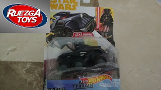 Video 214 Unblister y Review Hot wheels Darth Vader Characters Cars Star Wars