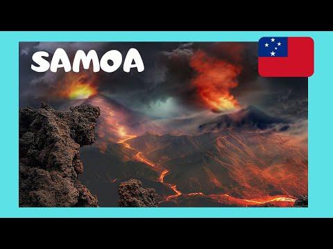 SAMOA, the spectacular LAVA FIELDS of SAVAI'I