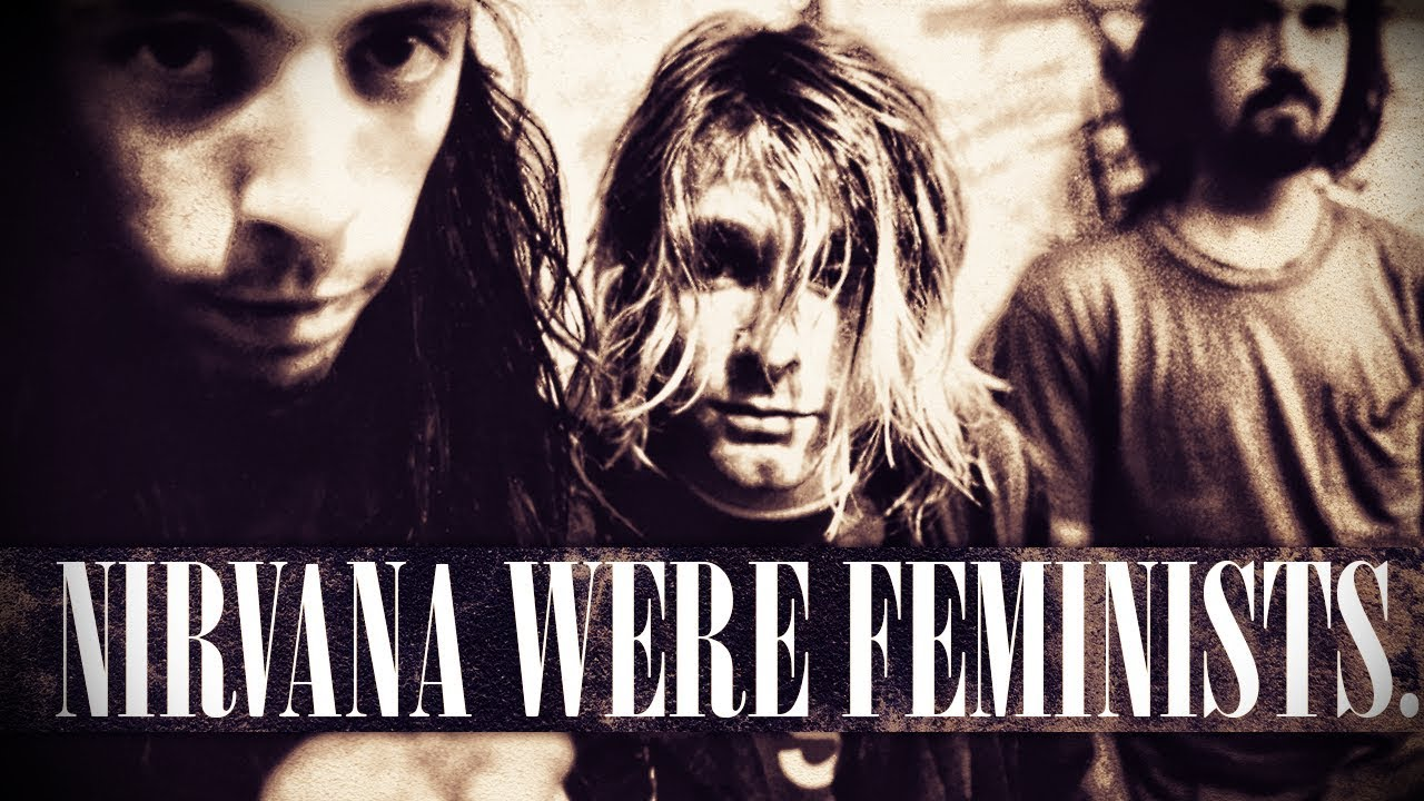 Nirvana Political Feminist Kurt Cobain Anti-Bigotry Quote ...  |Nirvana Feminism