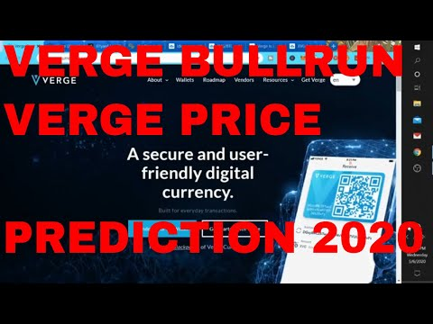 Verge Coin Price Prediction 2020 Xvg Crypto Verge News Today How High will Verge Crypto Go