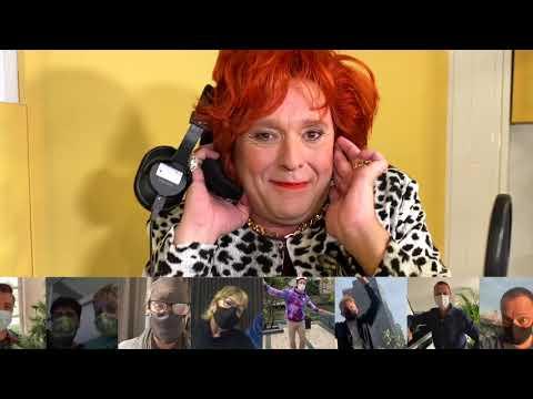 Richard Groenendijk als Jopie Parlevliet met de single Tebbie nou op je muil?!