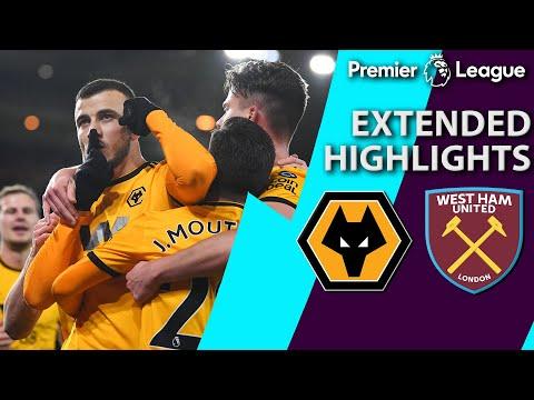 Wolves v. West Ham | PREMIER LEAGUE EXTENDED HIGHLIGHTS | 1/29/19 | NBC Sports