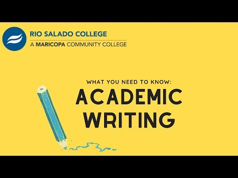 Academic Writing Basics