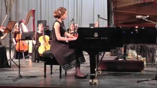 Зеленова Марина (фортепиано) Моцарт концерт №23 Ля мажор 3часть