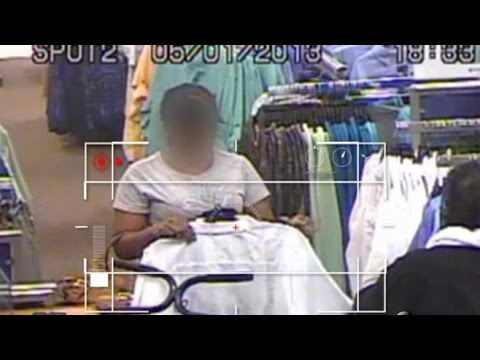 Florida Shoplifters Caught in the Act